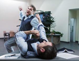 Assault at work