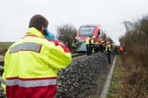 Train accident claim
