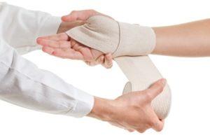 Wrist injury compensation claims