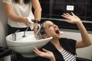 Hairdresser injury claim