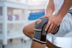 Knee injury compensation claim