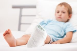 Child accident claim