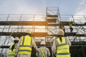 Scaffolding accident claim