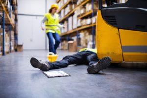 Injured worker warehouse accident